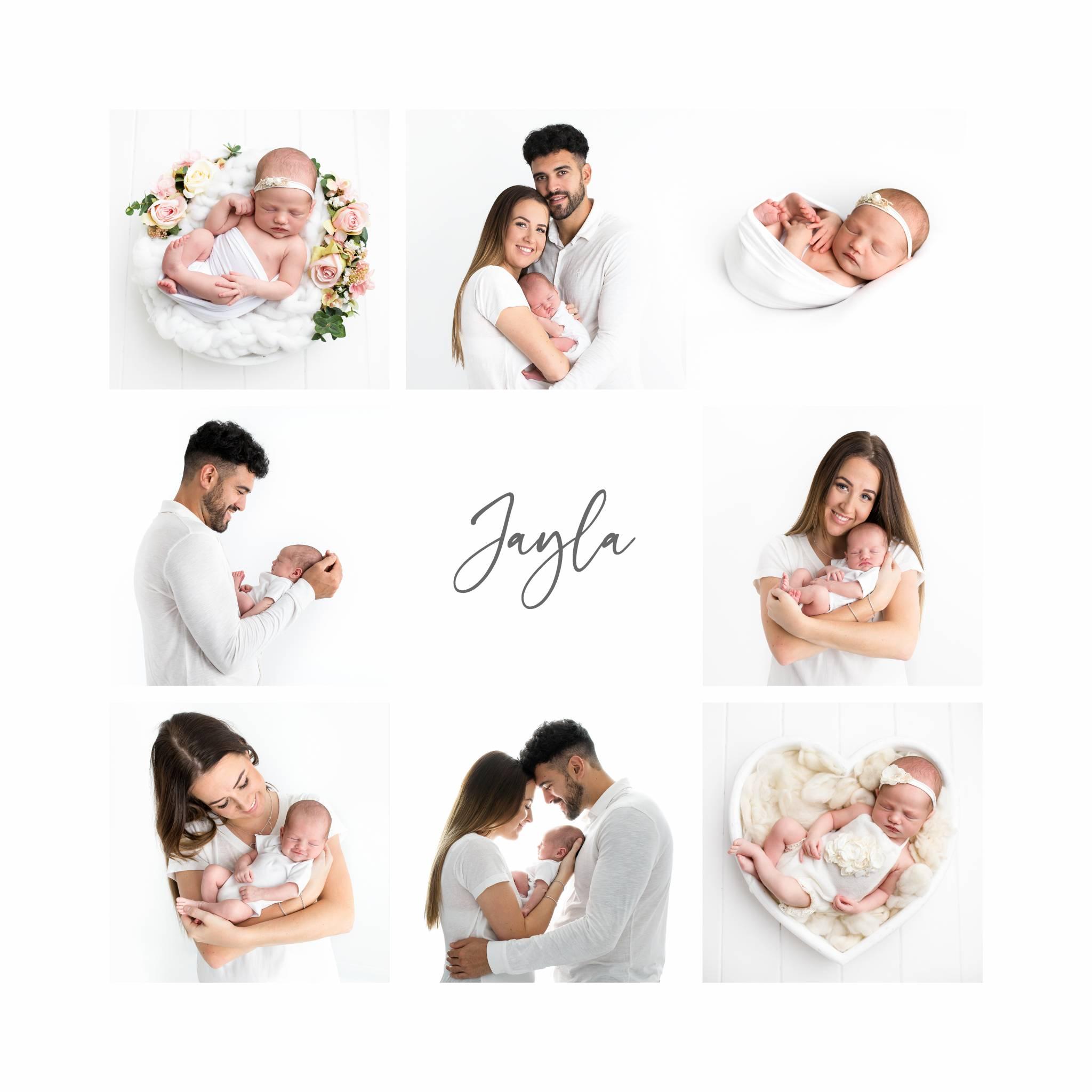 Newborn multi aperture frame
